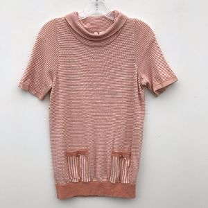 Anthropologie Tops - Moth Anthropologie Knit Tunic Top Striped #1450